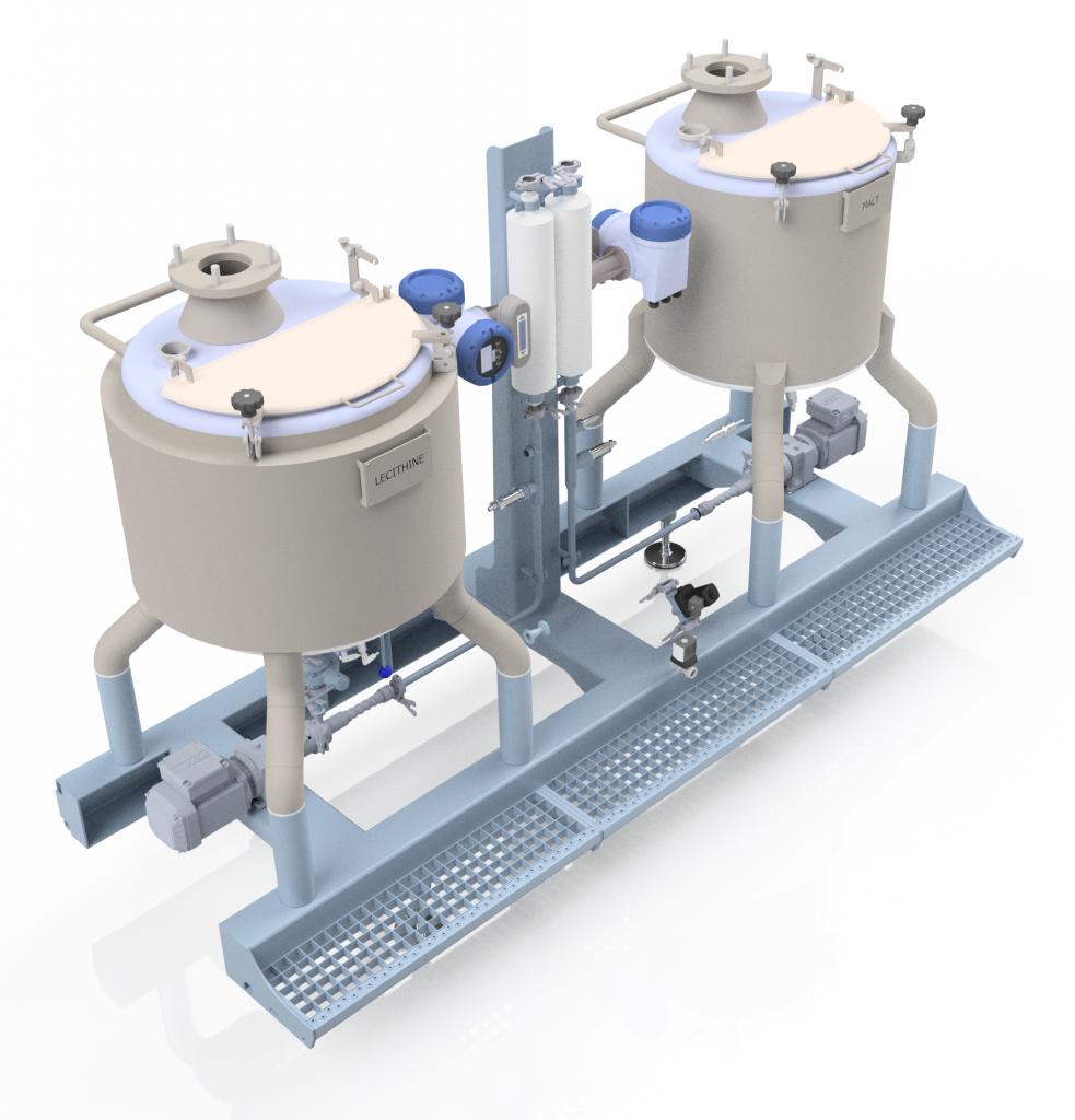 Sobatech liquid dosing tanks
