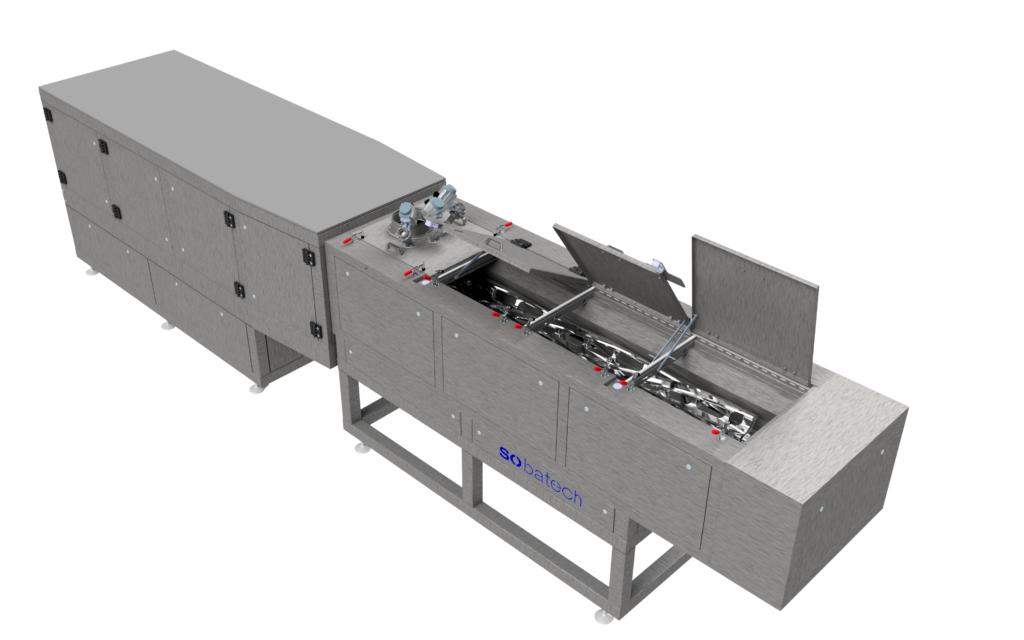 Continuous mixer (producing 10ton of dough per/hr)