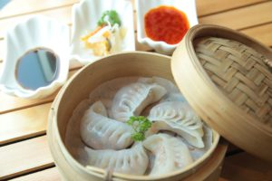 Dumplings and spring rolls Sobatech