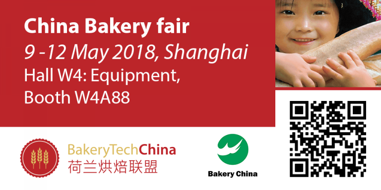 China Bakery fair - 9-12 May 2018, Shanghai - Sobatech