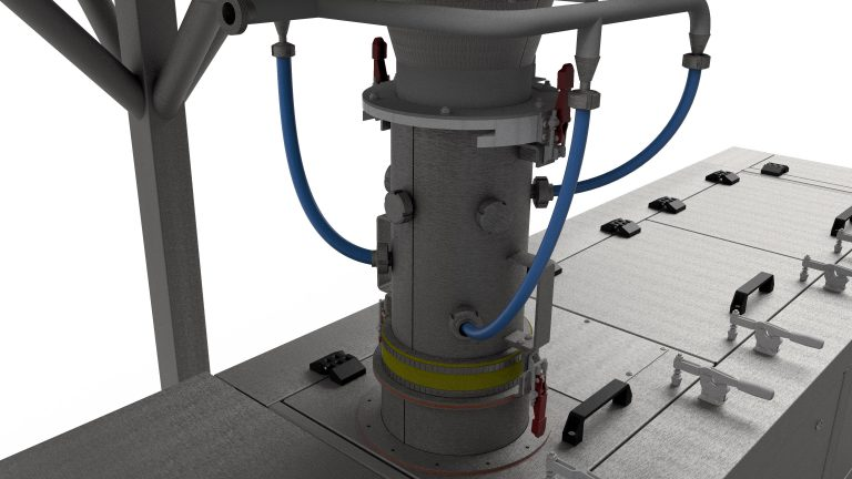 Sobatech homogenizer (first phase mixing)
