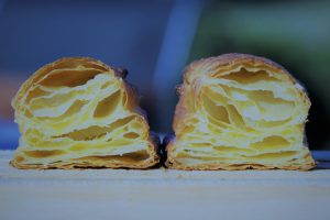 Croissant mixing