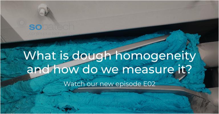Dough homogeneity