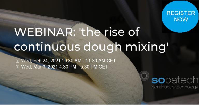 webinar on continuous dough mixing