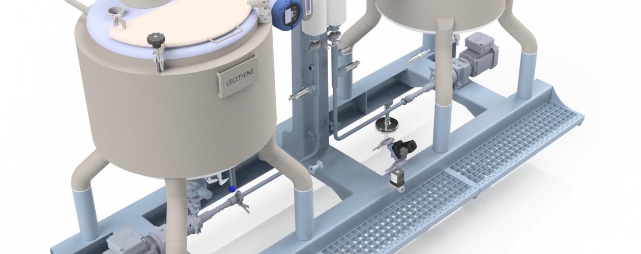 Continuous Dosing Liquids tanks